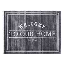 Ecomat Tradition Welcome To Our Home - antracietkleur - 45x60 cm