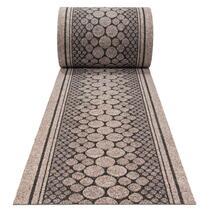 Uw hal wordt nog mooier met tapijtloper Liverpool. De loper in de kleur beige is voorzien van een zwarte print en heeft een breedte van 67 cm. Doordat de loper niet zo breed is, oogt uw hal langer.