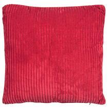 Sierkussen Supercord is een lekker zacht kussen. Door de rode kleur een ware eyecatcher op je bank of fauteuil!