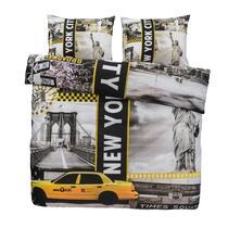 New York staat bekend als de stad die nooit slaapt, maar jij zult als een roos slapen onder dit dekbedovertrek Jake. Jake is gemaakt van zacht katoen en heeft een leuk ontwerp met kenmerken die de 'Big Apple' zo uniek maken!