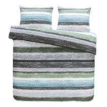 Dekbedovertrek Matthew heeft een trendy look en hip design! Dit kleurige dekbedovertrek geeft een modern tintje aan je slaapkamer.