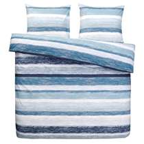 Comfort dekbedovertrek Matthew - blauw - 200x200 cm