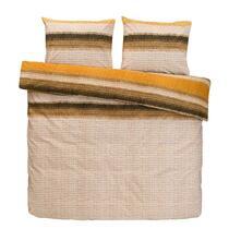 Comfort parure de couette Lillian - jaune ocre - 240x200/220 cm