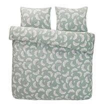Comfort dekbedovertrek Indra - groen - 200x200 cm