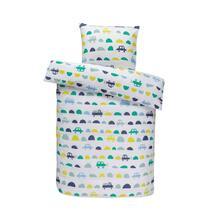Comfort kinderdekbedovertrek Tobias - groen - 120x150 cm