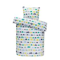 Comfort parure de couette enfant Tobias - verte - 140x150 cm