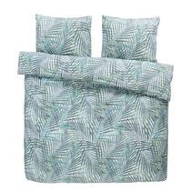 Comfort parure de couette Damian - verte - 240x200/220 cm