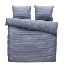 Easy dekbedovertrek Rees - grijsblauw - 240x200 cm