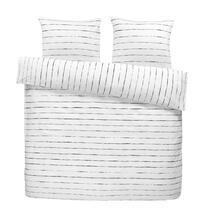 Comfort parure de couette Moos - noire/blanc he- 200x200/220 cm