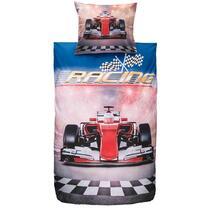 Dekbedovertrek Maxwell is een superleuk dekbedovertrek met een  afbeelding van een stoere raceauto. Dit dekbedovertrek heeft een afmeting van 140x200 cm en is gemaakt van katoen.