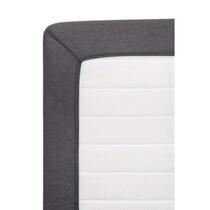 Dit hoeslaken Jersey in antraciet is elastisch en rekbaar. Hierdoor heeft het laken een perfecte pasvorm en sluit goed aan om je matras. Het laken is vervaardigd uit hoogwaardig katoen en heeft een afmeting van 180 bij 200 cm.