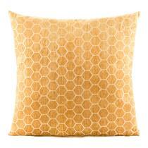 Le coussin décoratif Felice est un coussin jaune élégant. Felice attire l'oeil avec ses dimensions de 45x45 cm. Le coussin décoratif a un motif en couleurs jaune/blanc cassé, l'arrière est en couleur blanc cassé unie.