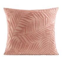 Sierkussen Jill is een vrolijk roze kussen met een afmeting van 45x45 cm. Het kussen is gemaakt van 100% polyester.