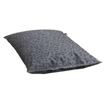 Lebel zitzak Leopard - antraciet - 100x150 cm