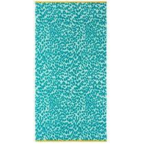 Kaat Amsterdam serviette de plage Jungle Twist - verte - 100x180 cm