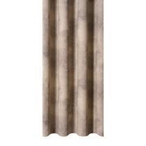 Gordijnstof Whitney is grijs van kleur en heeft een elegante landelijk romantische look. Deze stof is gemaakt van 55% katoen en 45 % polyester en valt mooi soepel.