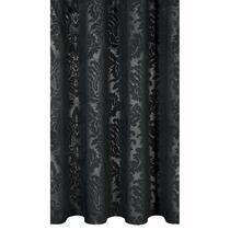 Gordijnstof Catharina met bloemenprint is ideaal voor in de slaapkamer. De stof is 95% verduisterend. Zo kun je het daglicht buiten houden. Dit gordijn is zwart van kleur en geeft het interieur een elegante uitstraling.