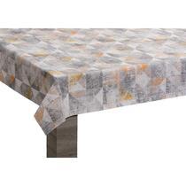 Tafelzeil Sergio - beige/grijs - 140 cm