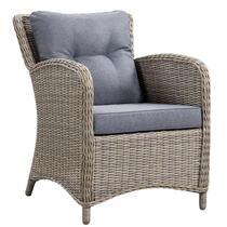 Le Sud fauteuil lounge Verona - gris -