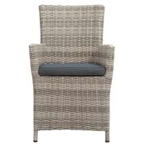 le sud fauteuil millau incl kussens grijs - Fauteuil Rond Ikea