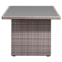 Le Sud table Ancona - gris clair - 145x85x66 cm