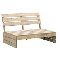 Palletbank Lucca is robuust en stoer en perfect voor in de tuin, op je terras of dakterras.