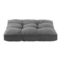 Coussin d'assise lounge Florence - gris - 80x80 cm