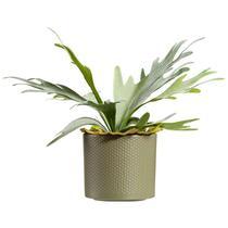 Bloempot Chris - groen - 12,5x13,5 cm