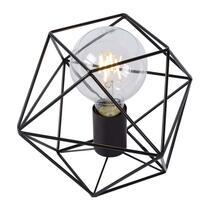 La Lucide lampe de chevet Octagon est une lampe tendance en verre au design exceptionnel. Cette lampe de chevet à cordon se caractérise par un design rétro, ce qui en fait un luminaire étonnant pour votre intérieur.
