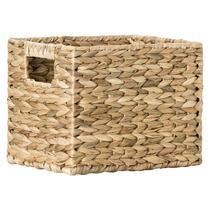 Mand Jaap is een mooie mand gemaakt van gevlochten waterhyacint. Deze 25x20x20 cm grote mand is verkrijgbaar in de winkel.