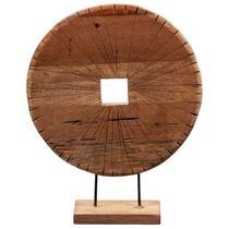 Beeld Teun - naturel - 50x40x12 cm