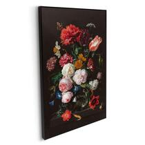 Schilderij Stilleven met bloemen - multikleur - 118x70 cm