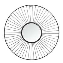 Spiegel Salamanca - zwart - 5x45 cm