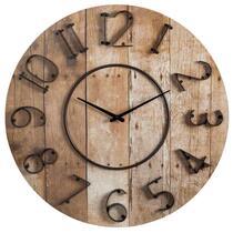 Horloge murale Marcel - brune - 70x5 cm