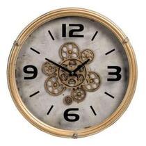 Horloge murale Rossini - couleur or - 9,5x46 cm
