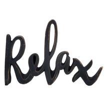 Decoletters Relax - zwart - 15x20 cm