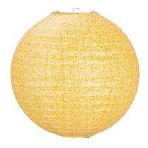 Lampion Okro - Oker - rond 30 cm