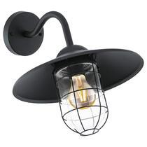 EGLO wandlamp Melgoa - zwart