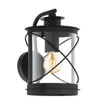 EGLO wandlamp Hilburn neerwaarts - zwart