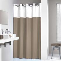Sealskin rideau de douche Double - polyester/coton - lin - 180x200 cm