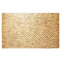 Sealskin badmat Woodblock is een unieke teakhouten badmat voor de kleinere badkamer of onder het bidet.