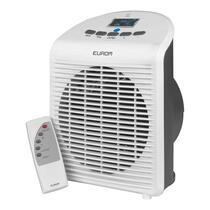 Eurom ventilatorkachel Safe-T-Fanheater beschikt over een thermostaat, omval- en oververhittingsbeveiliging. Tevens is de kachel voorzien van afstandsbediening en LCD display.