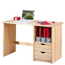 Bureau Sinus neemt weinig plaats in beslag. Toch vormt deze werkplek een comfortabele plaats voor het gebruik van jouw computer. Op het tafelblad is ruimte genoeg voor een laptop of monitor.