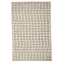 Floorita vloerkleed Stuoia is een zeer sterk vloerkleed voor zowel binnen als buiten in de kleur taupe met een afmeting van 133x190 cm.