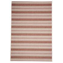 Floorita vloerkleed Riga is een zeer sterk vloerkleed voor zowel binnen als buiten in de kleuren roest en rood met een afmeting van 160x230 cm.