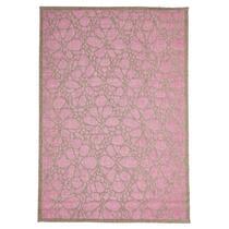 Floorita vloerkleed Fiore is een zeer sterk vloerkleed voor zowel binnen als buiten in de kleur roze met een afmeting van 160x230 cm.