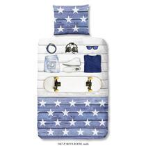 Dit overtrek is een stoer overtrek voor jongens. Dit dekbedovertrek is een aanvulling voor de kinderslaapkamer! En doordat het dekbedovertrek van 100% katoen is, slaapt uw kind hier ook nog eens heerlijk onder.