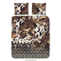Sur cette parure de couette brune se trouve un imprimé léopard magnifique. La housse de couette est imprimée de deux côtés. Cet article est un vrai atout dans votre chambre à coucher!