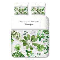 Dit multicolor dekbedovertrek is bedrukt met botanische bladeren en is dubbelzijdig bedrukt.  Dit dekbedovertrek is een aanvulling voor uw slaapkamer!