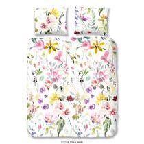 Op dit veelkleurige dekbedovertrek staan bloemen afgebeeld. Dit dekbedovertrek is dubbelzijdig bedrukt. Deze dekbedovertrek is een aanvulling op uw slaapkamer!